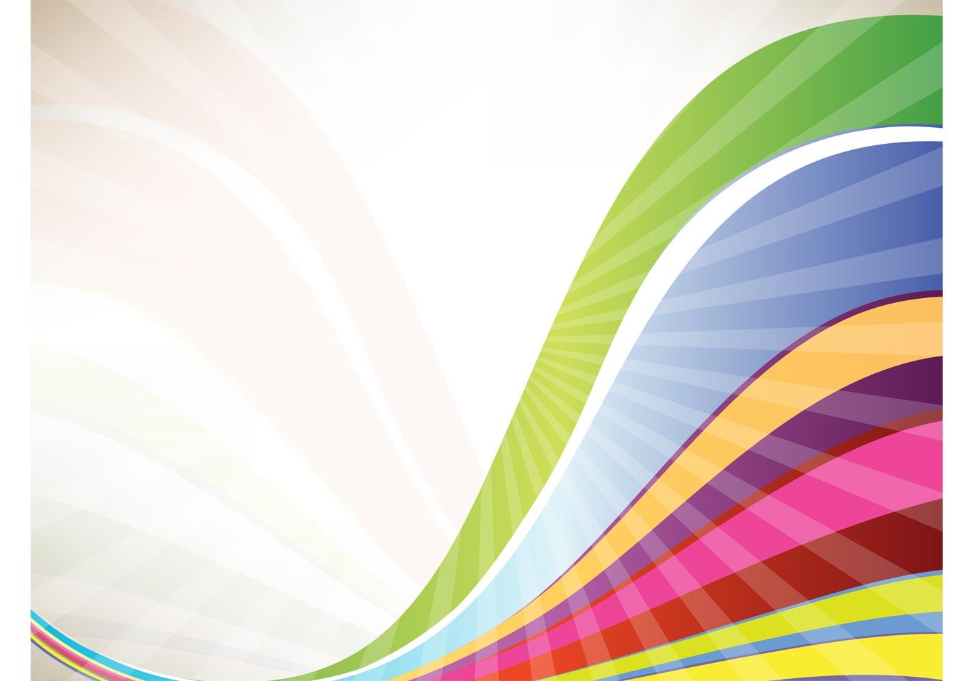 Rainbow Waves Download Free Vector Art Stock Graphics