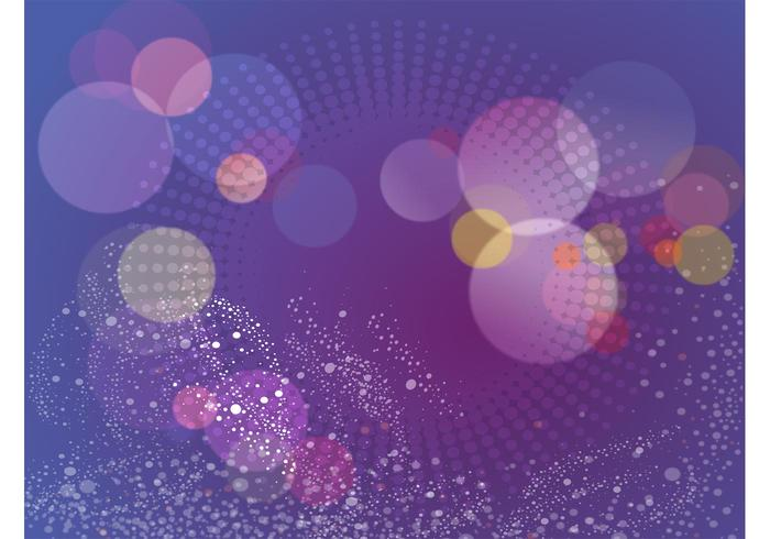Purple Dots Vector