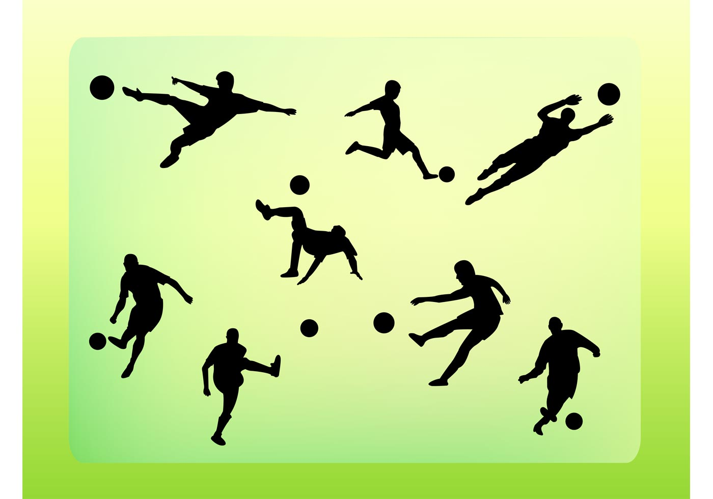 Play Soccer Like A pro - Techniques To Up Your Sport soccer-vector-silhouettes