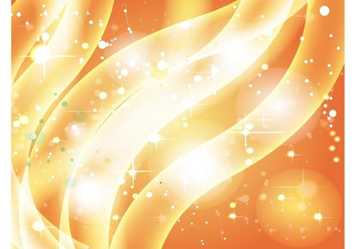 Golden Sparkle Background