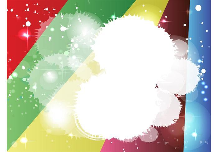 Rainbow Starburst Background