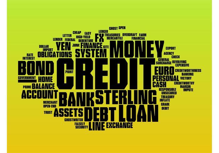 Money Vector Collage