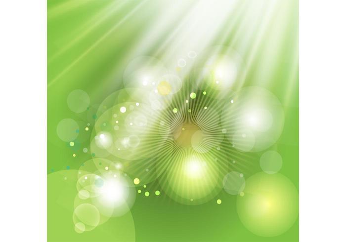 Green Light Background Image