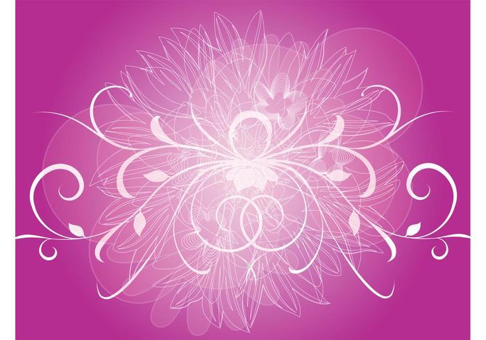 Swirled Purple Background