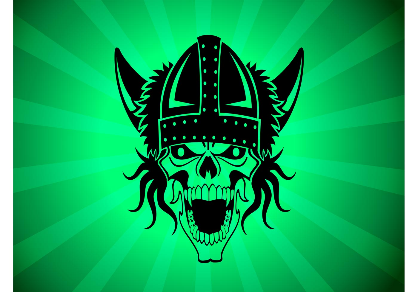 skull warrior download free vector art stock graphics