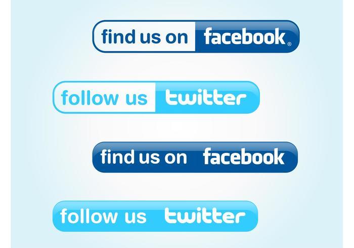 Follow Us Buttons