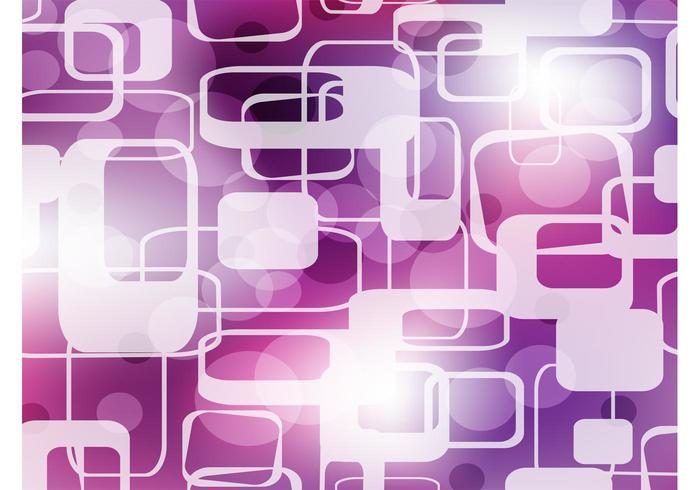Abstract Purple Shapes Background