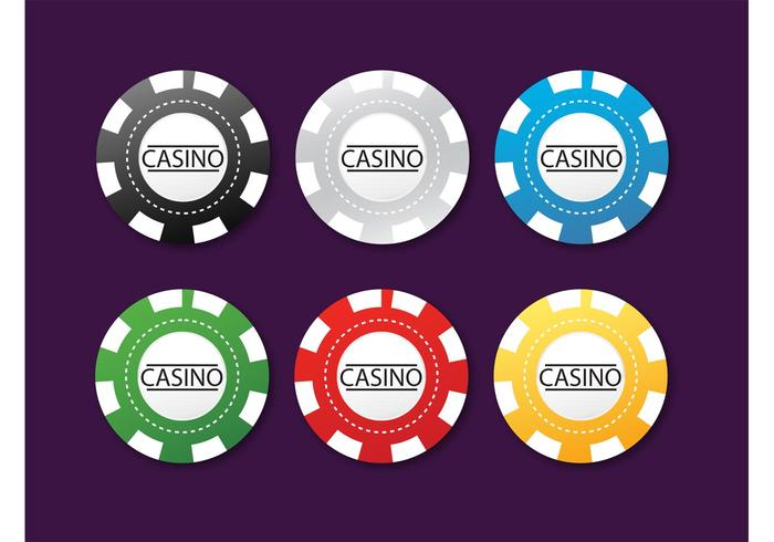 What do the different colors of poker chips mean