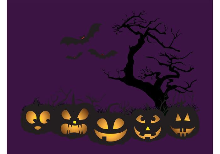 Halloween Pumpkin Cartoons