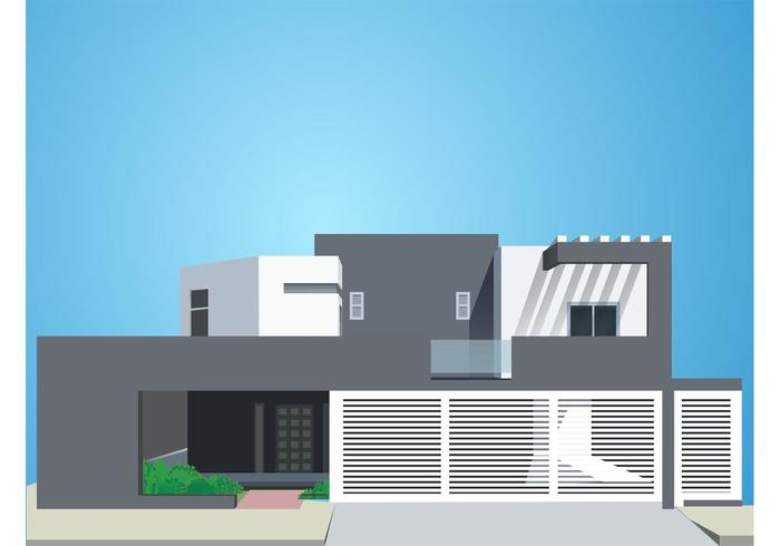 Modern House Download Free Vector Art Stock Graphics Images