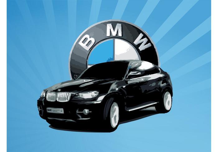 BMW X6 Vector
