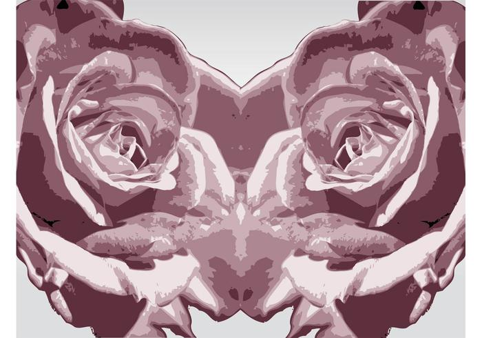 Roses Vector Trace