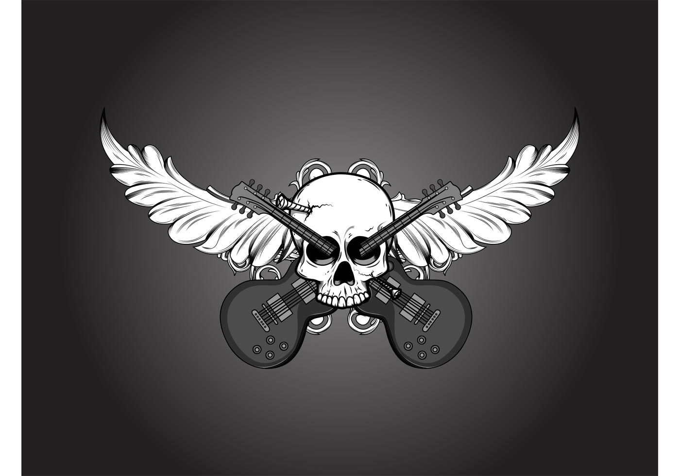 Motor Skull Download Free Vector Art Stock Graphics