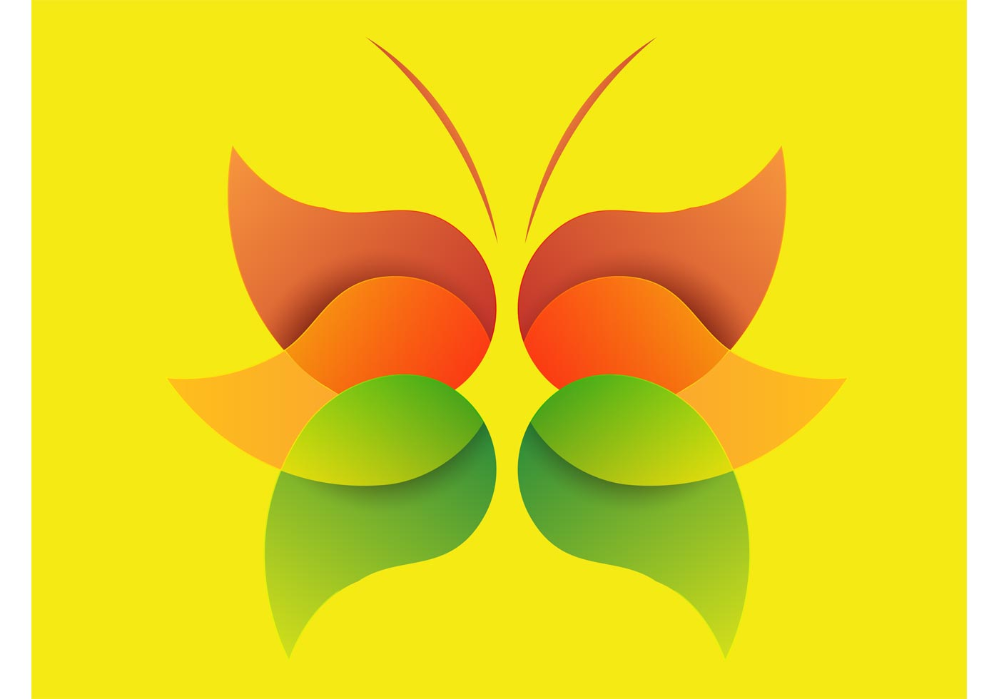 Minimal butterfly download free vector art stock for Minimal art vector