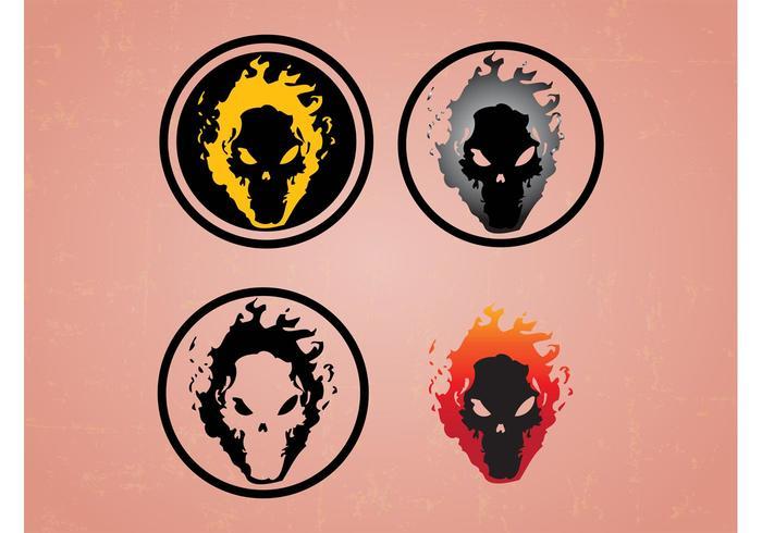 Skulls On Fire