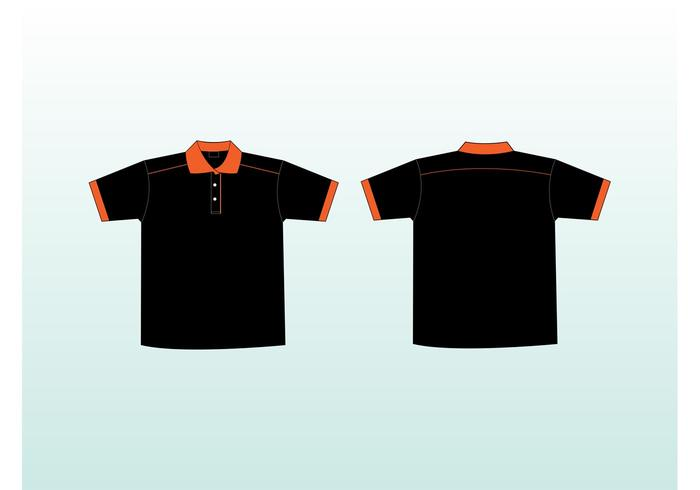 Polo Shirts Vectors
