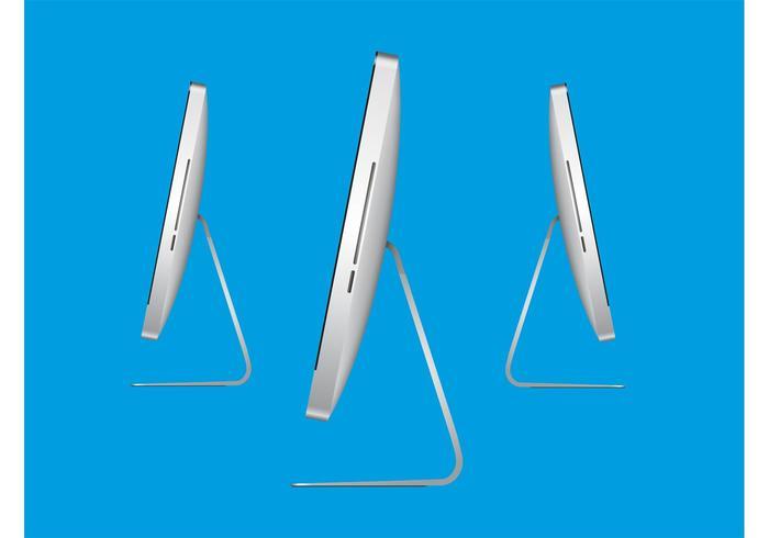 Apple iMac Side View