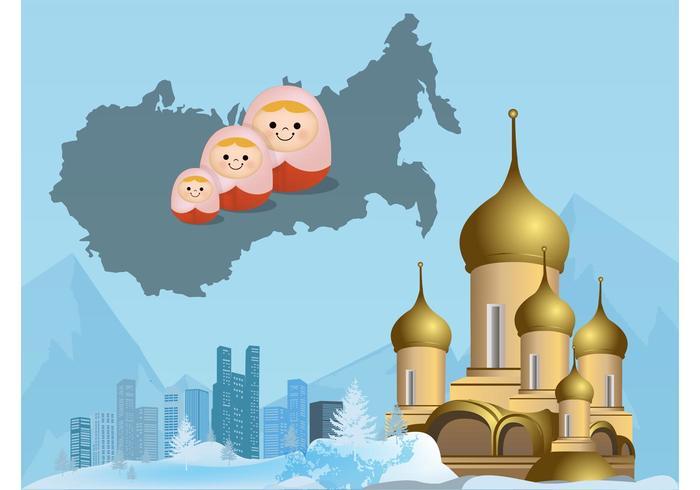 Paysage russe