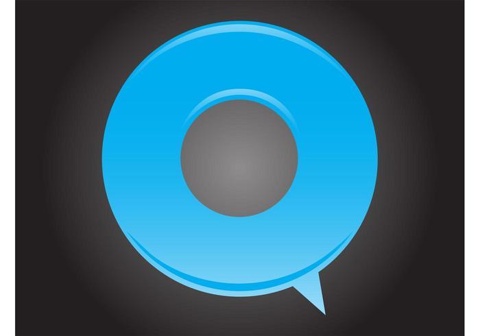 Stylized Speech Bubble