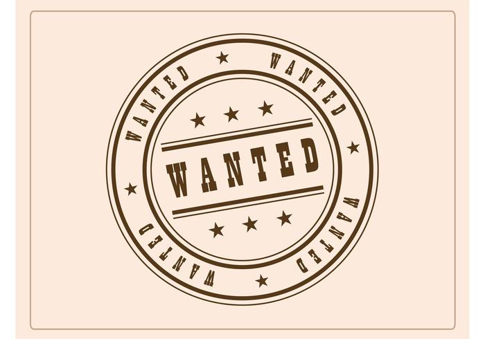 Wanted Badge