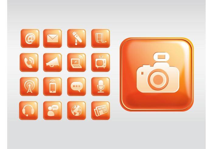Shiny Square Icons
