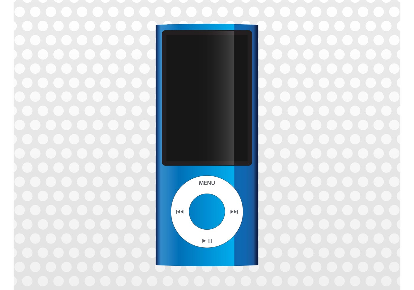 Blue iPod Nano - Download Free Vector Art, Stock Graphics ...
