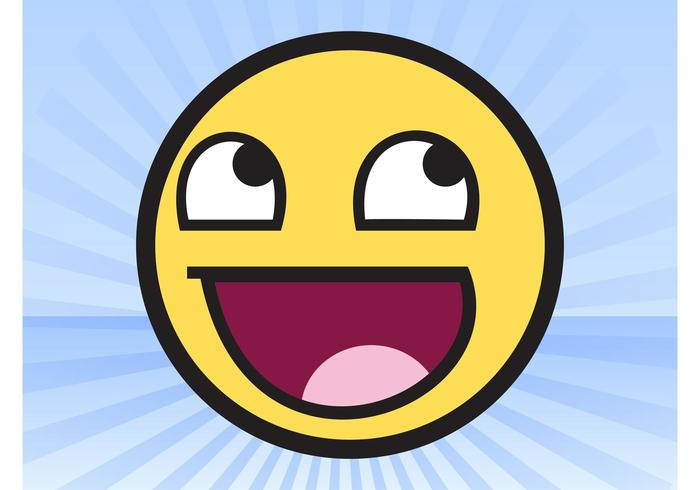 awesome face meme download free vector art stock graphics images