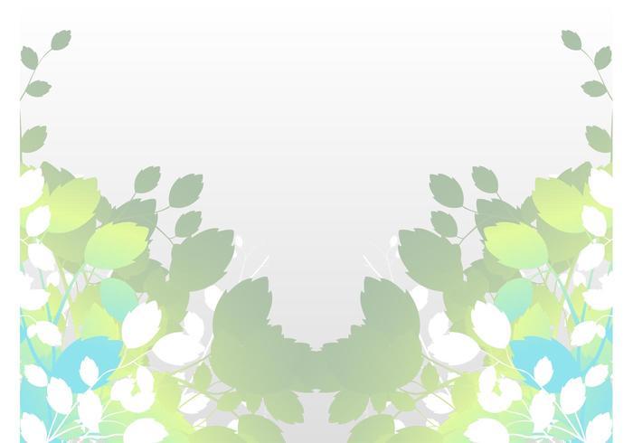 Stylized Leaves Illustration