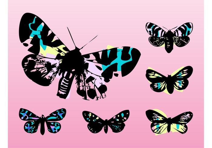 Pop Art Butterflies