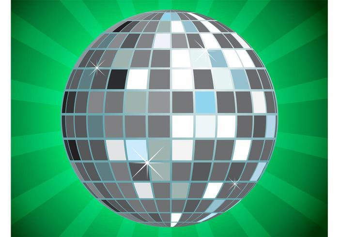 Glitter Ball Vector