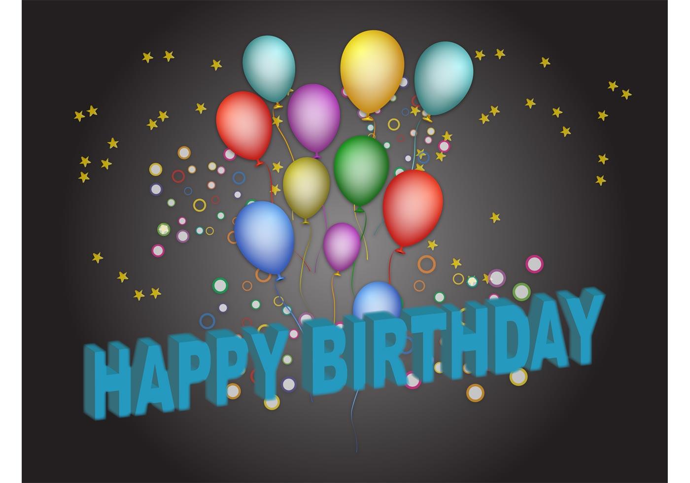 Birthday poster download free vector art stock graphics images for Birthday posters free download