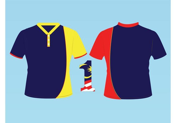 T-shirt Malaisie