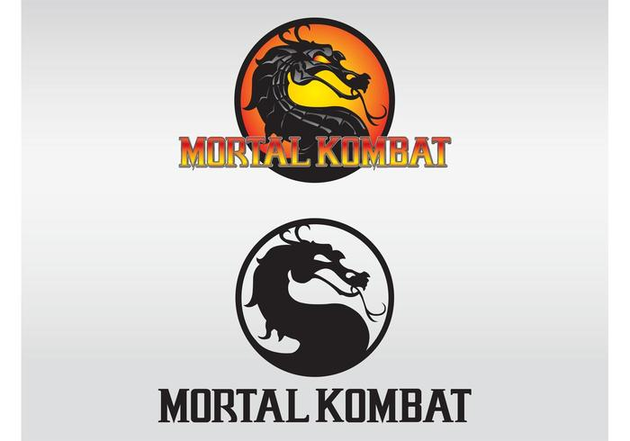 Mortal kombat logo's
