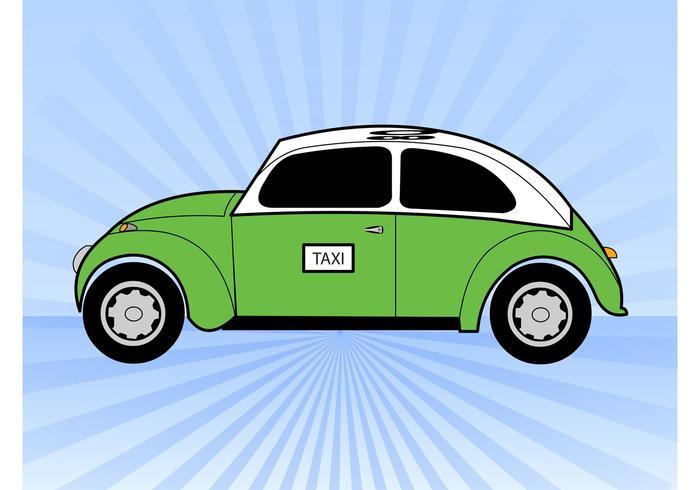 Taxi vert