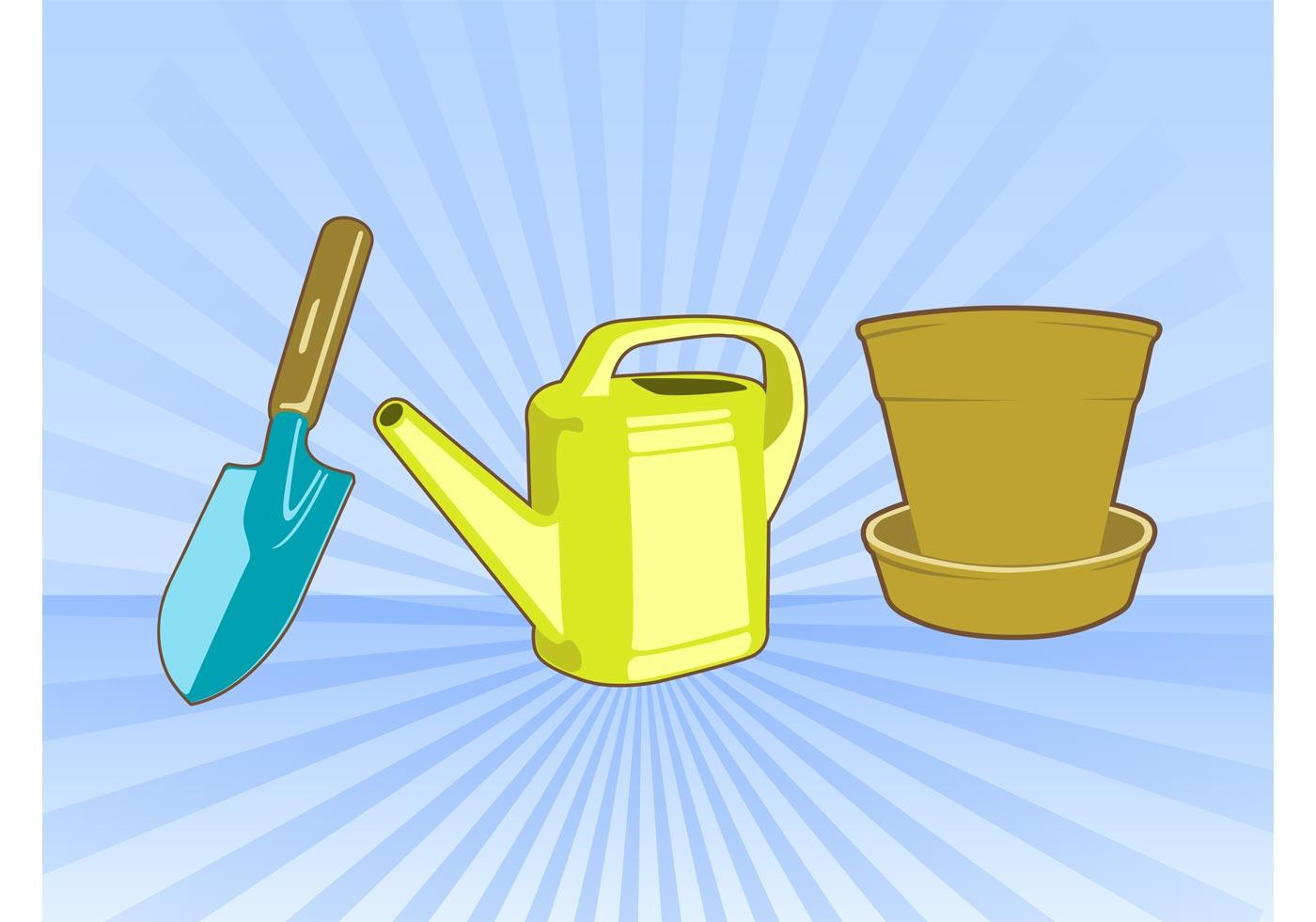 Garden tool free vector art 4594 free downloads for Gardening tools vector