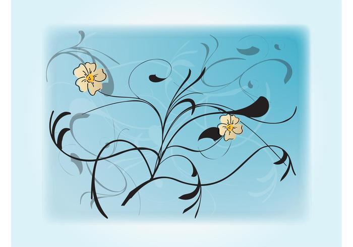 Art floral doux