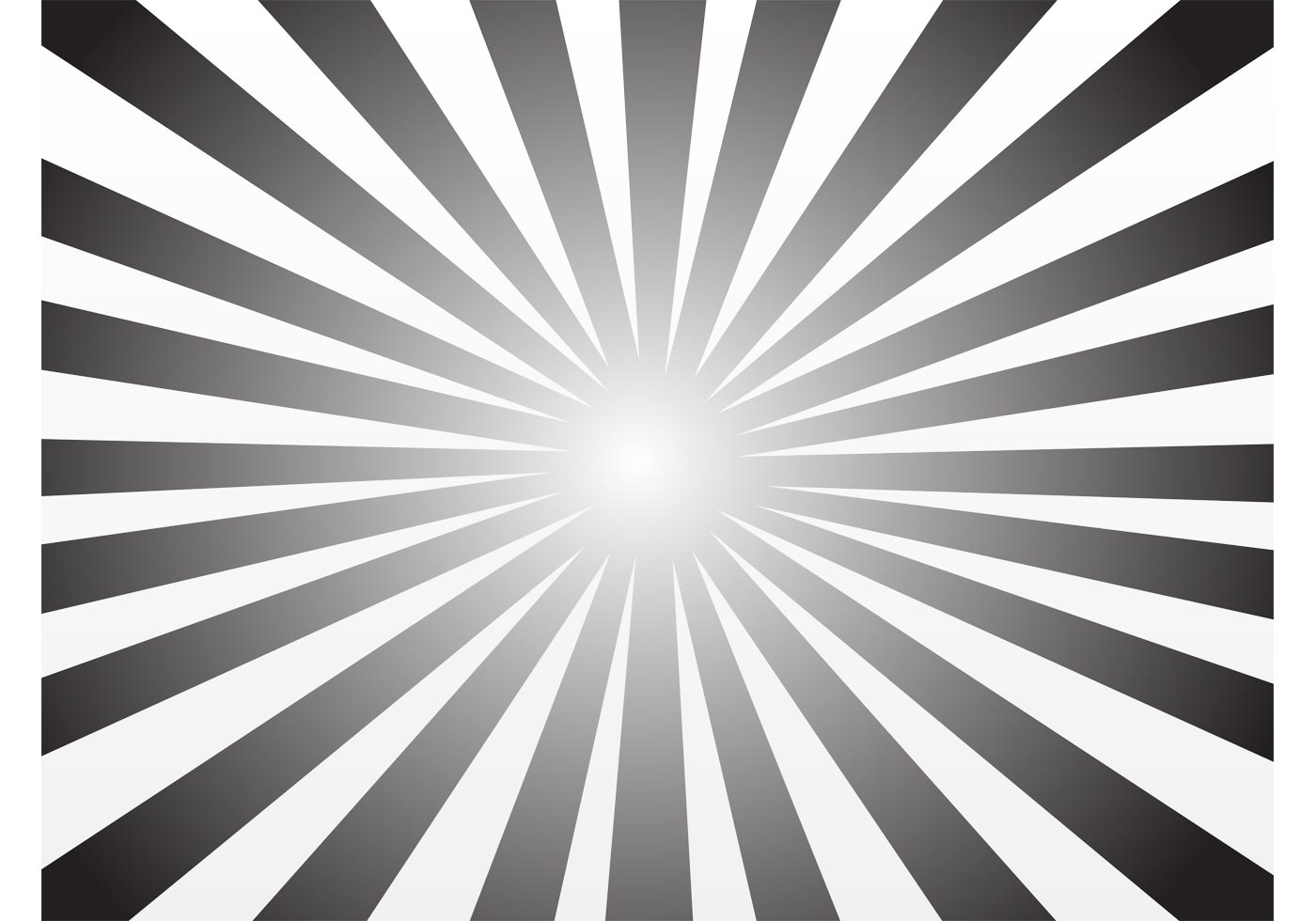 Rayos De Sol Vector: Descargue Gráficos Y Vectores Gratis