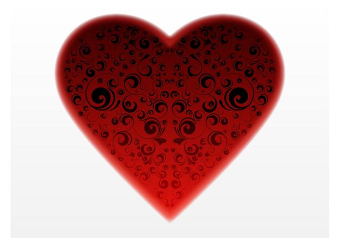 Dark Heart Vector