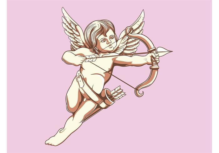 Ilustração Cupido
