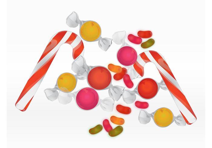 Pilha de doces