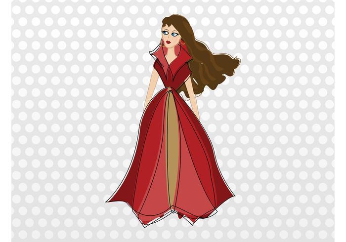 Dama de la moda