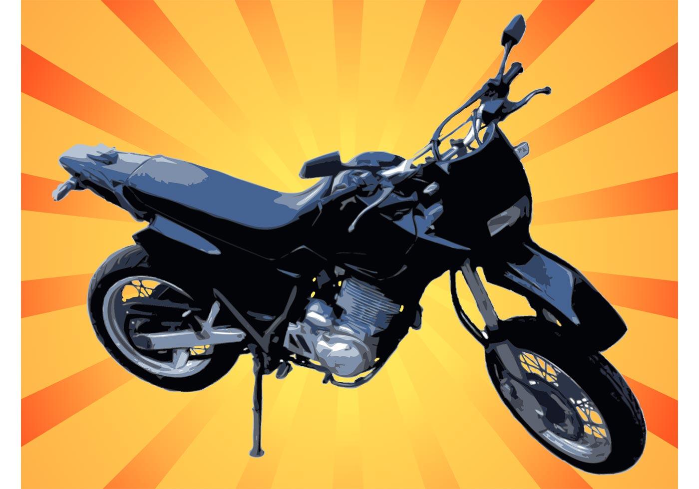 graphique vectoriel de motocyclette t l chargez de l 39 art des graphiques et des images. Black Bedroom Furniture Sets. Home Design Ideas