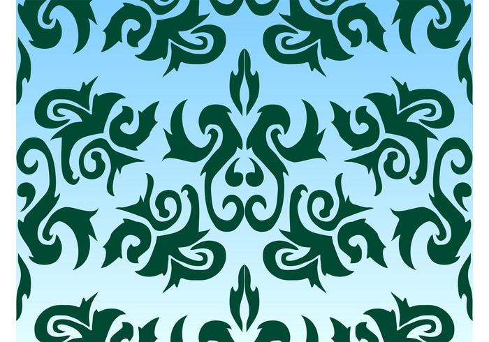Stilisiertes Muster