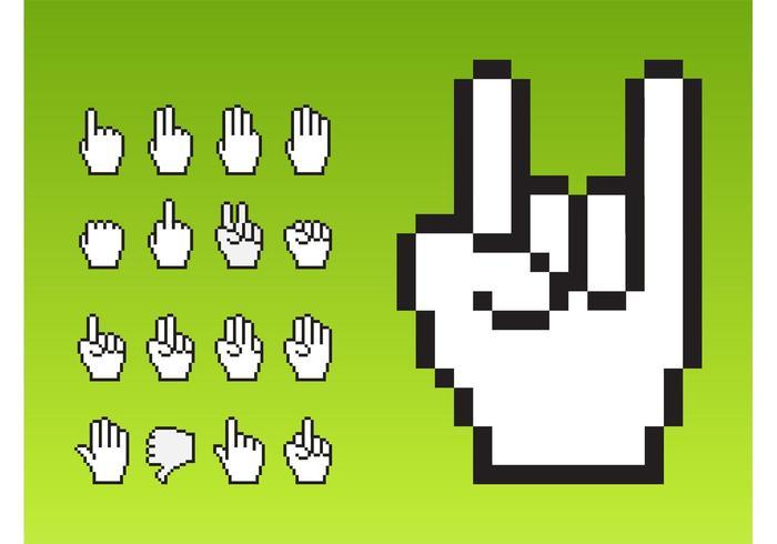 Markörhänder