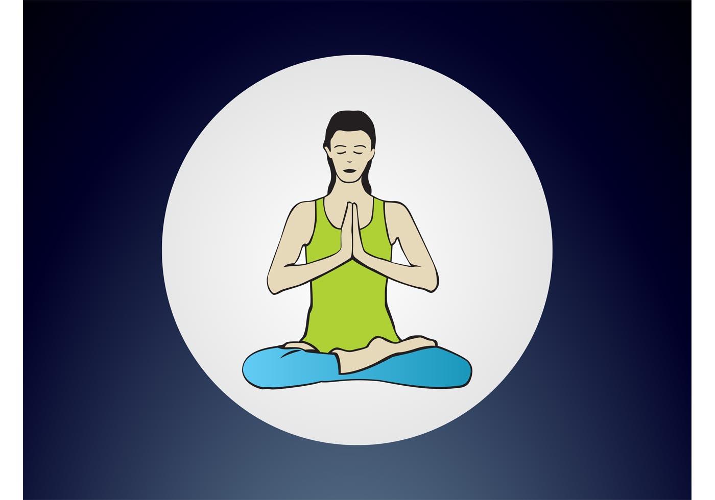 Yoga Lotus Pose Download Free Vector Art Stock Graphics Images