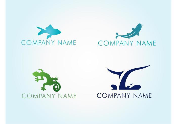 Water Animal Logos