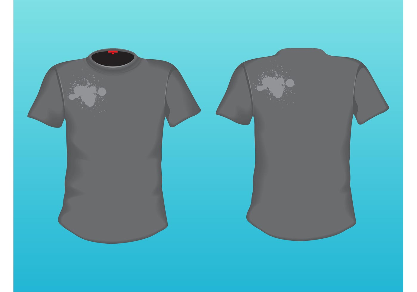 Grey T-Shirt - Download Free Vector Art, Stock Graphics & Images