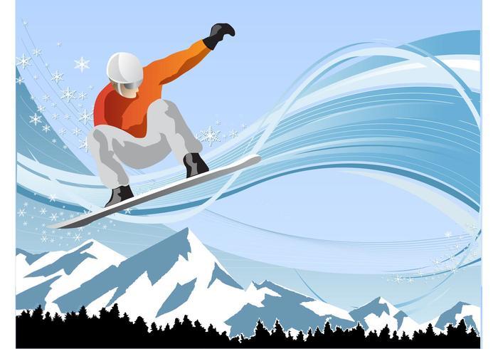 Diversión de Snowboard