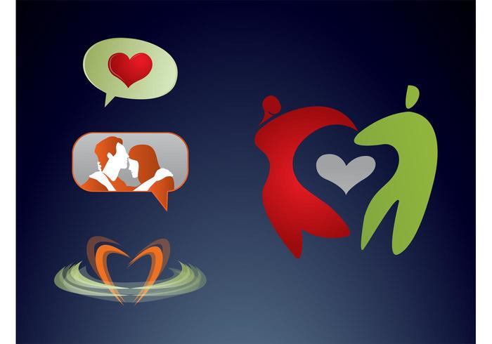 Logotipos de amor