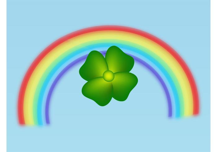 Trevo e arco-íris